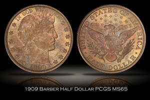 1909 Indian Head Cent PCGS MS66RD