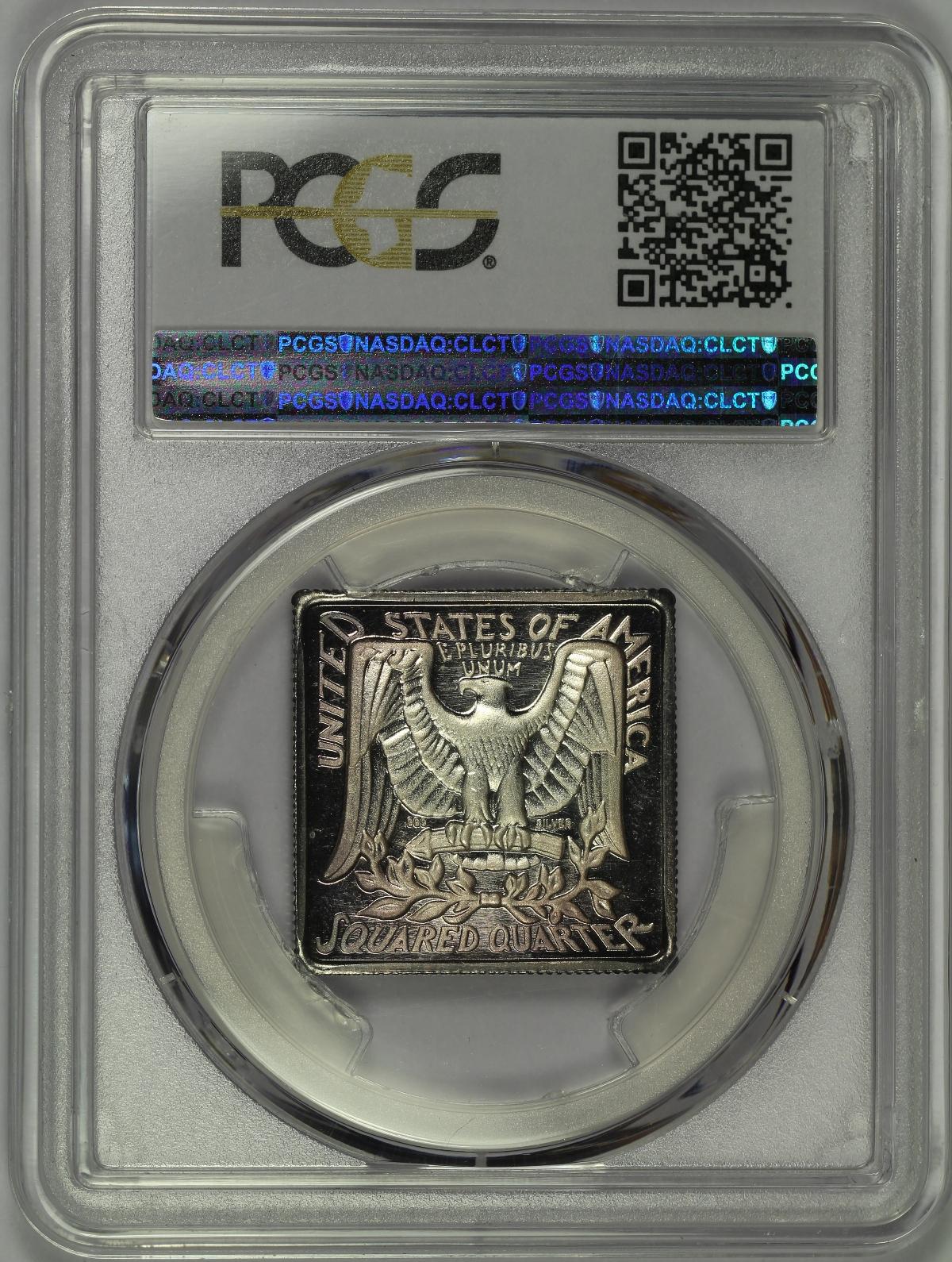 Michael Kittle Rare Coins 1984 Squared Quarter 1 2 Oz