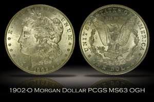 1902-O Morgan Dollar PCGS MS63